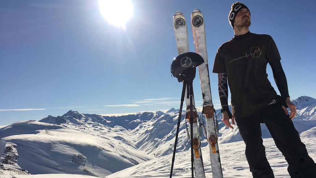 Ski Snow mountains keep me alive